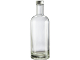 Flasche aus Glas 750ml - Style Bottle - Trinkflasche mit...