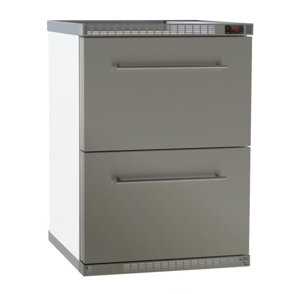 Gewerbekühlschrank steckerfertig mit Umluftkühlung und Flaschenzügen