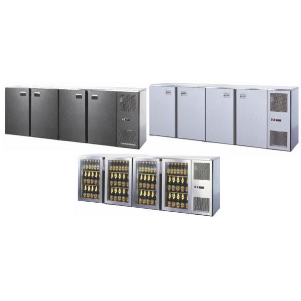 Getränketheke Kühltheke Bauteil Unterbaukühlung MaxiMax 2600mm breit 650mm tief