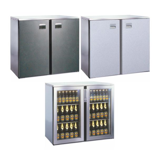 Getränketheke Kühltheke Bauteil ohne Kältesatz MaxiMax - 1090mm breit 650mm tief
