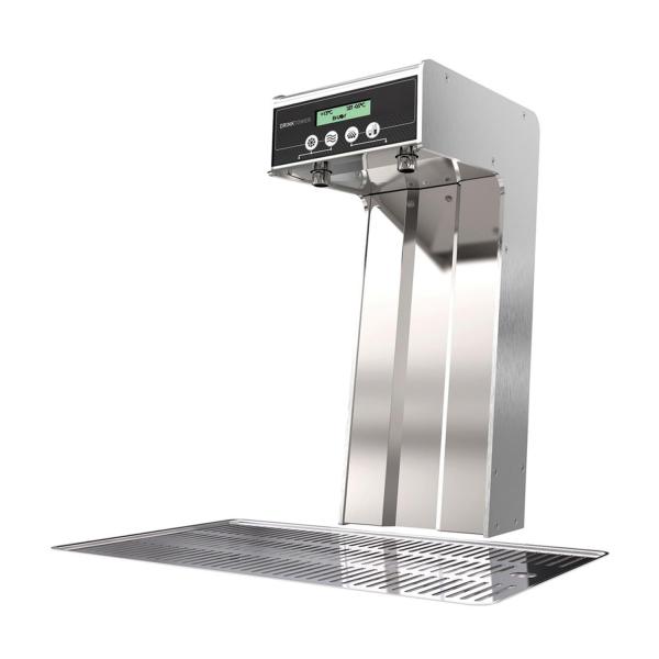 Wasserspender Tafelwasser Schanksäule Cosmetal Drink Tower Edelstahl