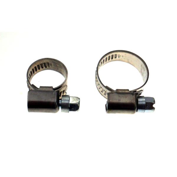 Schraubschlauchschellen Schneckengewindeschellen für 7mm/10 mm Schläuche