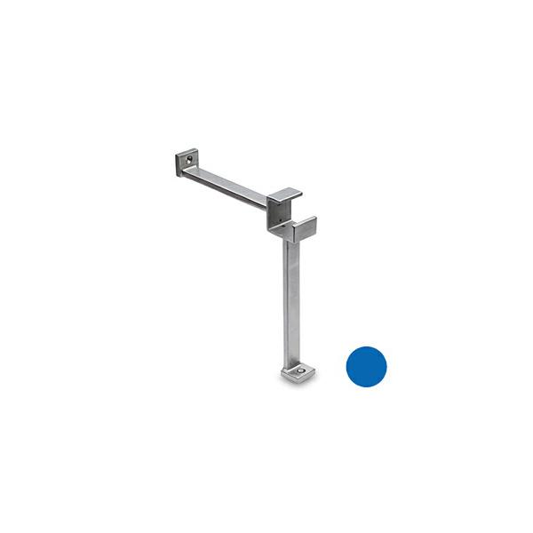 Fußstütze für Edelstahl Vierkantrohr 35x35 mm