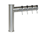 Rechtsausleger Schanksäulen 2, 3 oder 4 leitig aus 102 mm Rohr in 4 Finishes