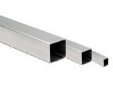 Edelstahl Vierkantrohr 20x20 mm in Längen 2500 mm