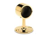 Handlaufträger Messing Design Rohrendhalter für...