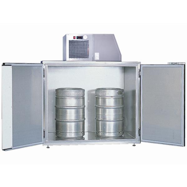Faßkühler Fassvorkühler für 2-4 Fässer aus verzinktem Stahlblech oder Edelstahl