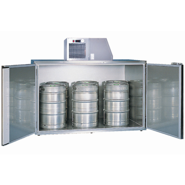 Faßkühler Fassvorkühler für 6-14 Fässer aus verzinktem Stahlblech oder Edelstahl