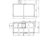 Faßkühler Fassvorkühler für 8-18 Fässer aus verzinktem Stahlblech oder Edelstahl