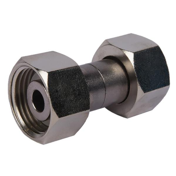 Verbindungsstück - 20mm zwischen beiden 5/8 Zoll Sechskantmuttern