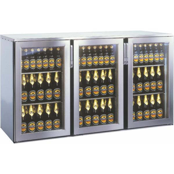 Getränketheke Kühltheke Bauteil ohne Kältesatz MiniMax - 1645mm breit 400mm tief