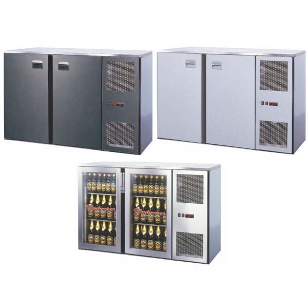 Getränketheke Kühltheke Unterbaukühlung MiniMax - 1440mm breit - 520mm tief