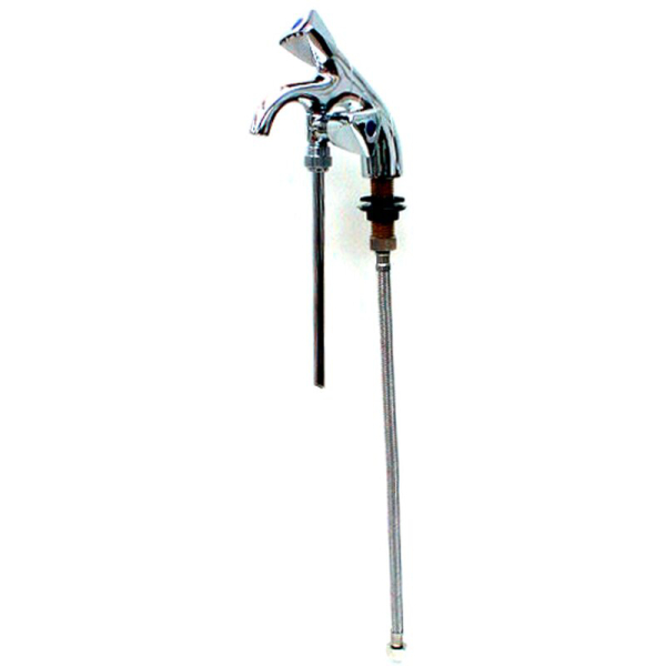 Spülbeckenhahn Wasserhahn für Kaltwasser mit Unterspülung für 20cm Beckentiefe
