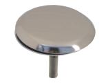 Blindstopfen für Schanksäule - Chrom - 40mm