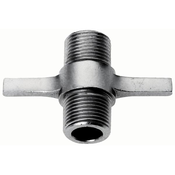 Kellerverbindungsstück Verbindungsnippel 5/8 Zoll mit Flügelgriff
