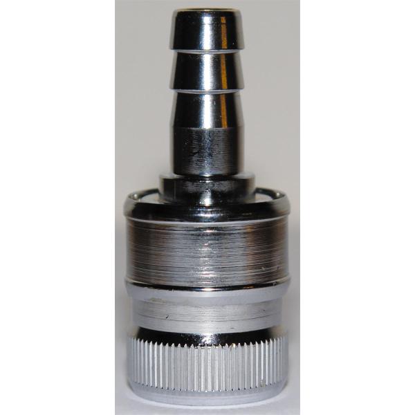 Schnellanschluss mit Steckkupplung für Unterspülung 3/8 Zoll