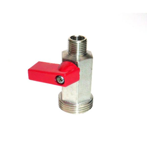 Absperrhahn 1-leitig für CO2-/Stickstoff Druckminderer Zwischendruckregler