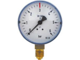 Arbeitsmanometer Manometer 50mm mit 1/4 Zoll Gewinde