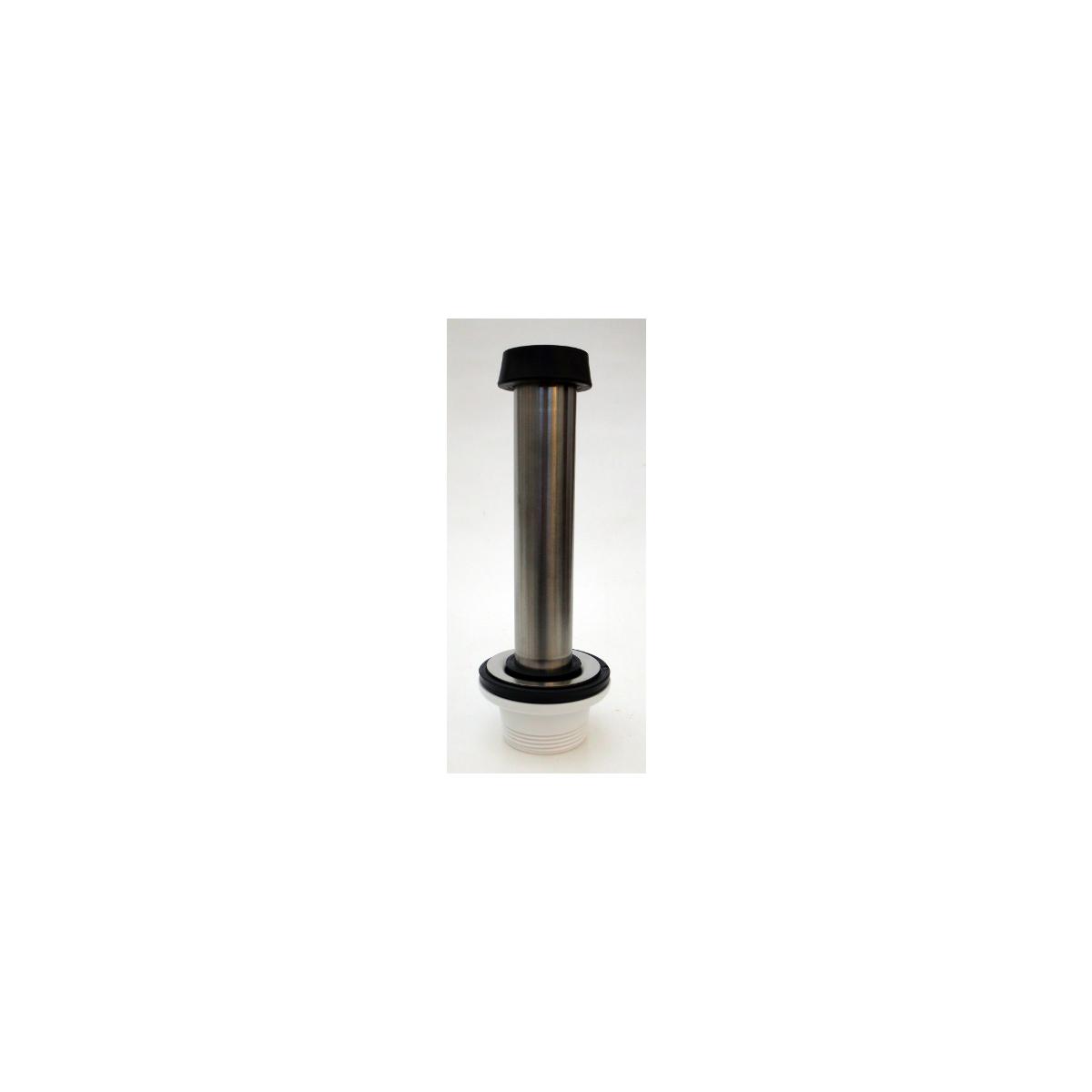 Ab und Überlaufgarnitur 1 14 Zoll für 200 mm Beckentiefe ~ Spülbecken In Arbeitsplatte Einlassen