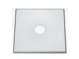 Abdeckplatten aus Edelstahl 220x220mm 280x280mm zum...