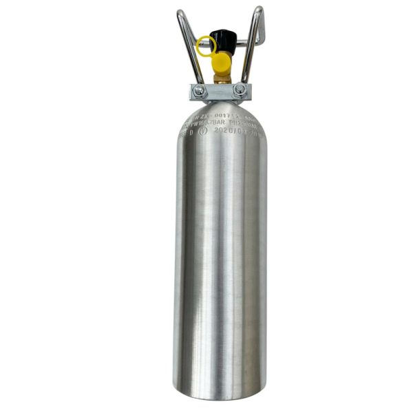mit Kohlensäureflasche (2Kg)