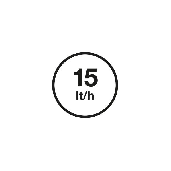 15 (l/Std)